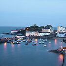 Tenby at dusk by MrsGJ