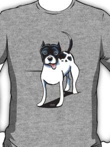 Black & White Pitbull T-Shirt