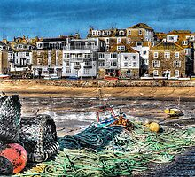 St. Ives Nets HDR by Anthony Hedger Photography