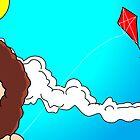 I TEMPI DELLE VACCHE GRASSE (The kite) by CLAUDIO COSTA