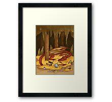 The Hobbit Redesign Framed Print