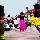 TRIBUTE TO THE ANCESTORS - CONEY ISLAND, NEW YORK (2) by KENDALL EUTEMEY
