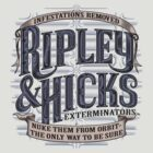 Ripley & Hicks Exterminators by DoodleDojo