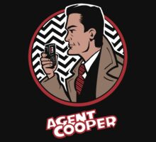 Agent Cooper by Jake Kesey