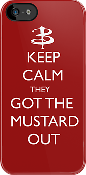 They got the mustard out by RebeccaMcGoran