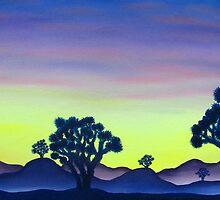Joshua Tree Sunset by Joshua Bales