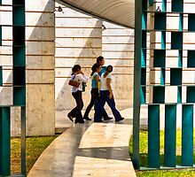 Living Between The  Lines - Mérida Mexico by Mark Tisdale
