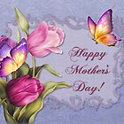 Mother's Day Tulips by SpiceTree