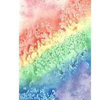 The Rainbow's Stardrops Roll Photographic Print