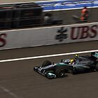 Mercedes AMG - Lewis Hamilton by Mark Bolton