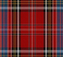 02091 Westwood Red Anderson Tartan Fabric Print Iphone Case by Detnecs2013