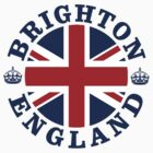 Brighton Vintage Style British Flag by FlagCity