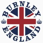Burnley Vintage Style British Flag by FlagCity