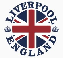 Liverpool Vintage Style British Flag by FlagCity