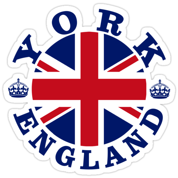 York Vintage Style British Flag by FlagCity