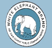 White Elephant - Blue by Tim Topping