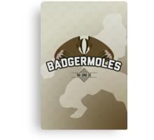 Ba Sing Se Badgermoles Canvas Print