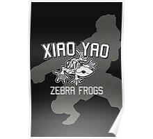 Xiao Yao Zebra Frogs Poster