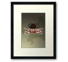 Capitol City Catgators Framed Print