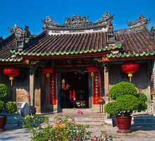 Vietnam. Hoi An. Fujian Chinese Congregation. Temple. by vadim19