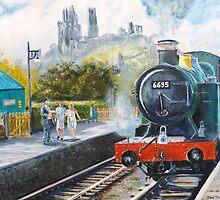 Corfe Station. by Joe Trodden