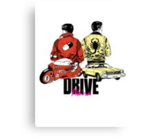 Drive x Akira Canvas Print