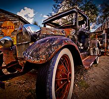 Rusted Oldtimer by Tornadiz