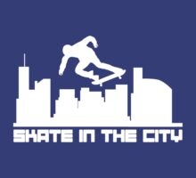 Skate in the city by WAMTEES