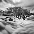 Luddington Weir by Paul Richards
