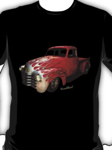 Flaming Chevy Pickup T-Shirt! T-Shirt