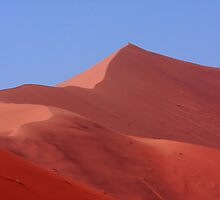 """Pink Sand Dune"" Namibian Desert Landscape by aidan  moran"