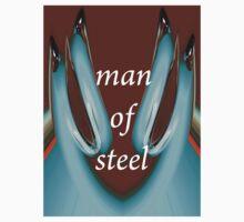 tee 0505 - man of steel by yesdigiterarte