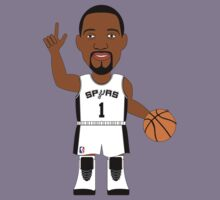 NBAToon of Tracy McGrady, player of San Antonio Spurs by D4RK0