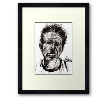 Bad As Me  Framed Print