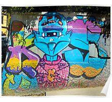 Street Art Valparaiso Chile 8 Poster