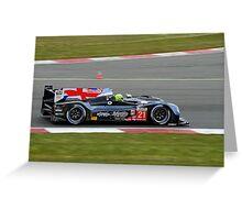 Strakka Racing No 21 Greeting Card