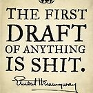 Hemingway First Draft by LibertyManiacs