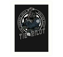 TIE Pilot Crest Art Print