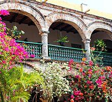 Convento de La Popa, Cartagena, Columbia by Kurt  Van Wagner