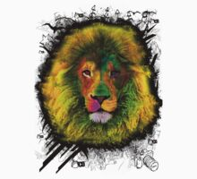 OCD LION HEAD by chasemarsh