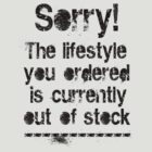 Lifestyle is out of stock (black) by hardwear