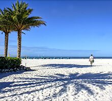The White Sands of Clearwater Beach by Mikell Herrick