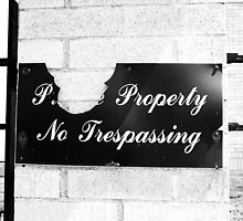 Private Property  by meanjean