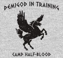 Demigod In Training Kids Clothes