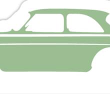 Volvo Amazon Lite Green for Blk Shirts Sticker