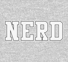 NERD (for dark color t-shirts) by Madkristin