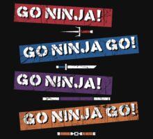 Go Ninja Go! by odysseyroc