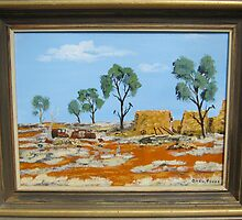 RUINS IN THE MALLEE by owen jones