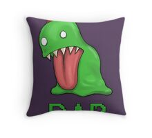 Monster Dab Throw Pillow