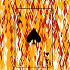 Fire Playing Card by greymoon69